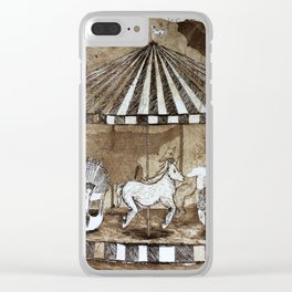 Carrousel Clear iPhone Case