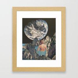 Cosmic Waters Framed Art Print