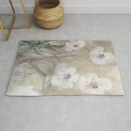 Thriving Orchid Rug