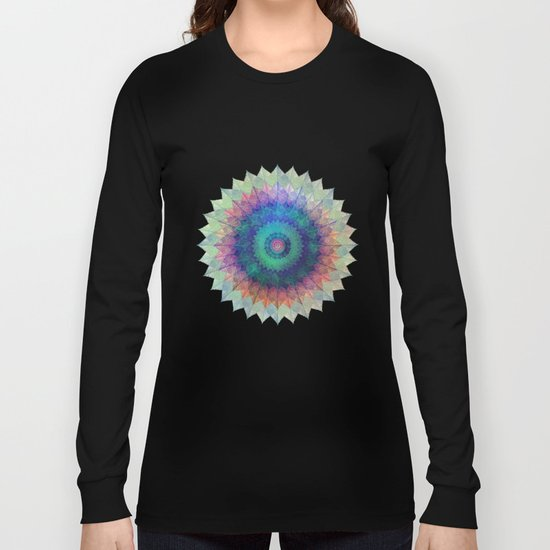 Leaf Mandala Long Sleeve T-shirt