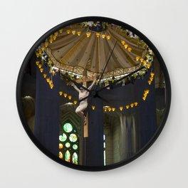 Sagrada Familia Wall Clock
