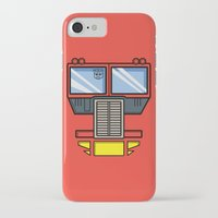 optimus prime iPhone & iPod Cases featuring Transformers - Optimus Prime by CaptainLaserBeam