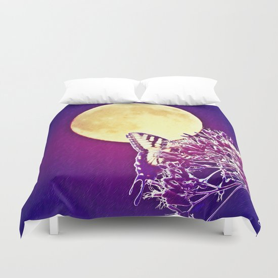Night Wings Duvet Cover