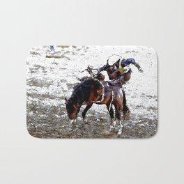 The Dismount   -   Rodeo Cowboy Bath Mat