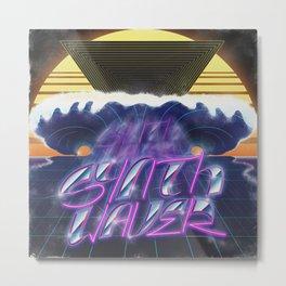 Synthwaver Metal Print
