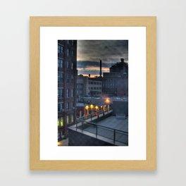 A Dumbo Sunrise Framed Art Print