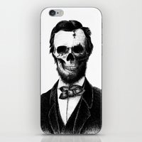 lincoln iPhone & iPod Skins featuring Abraham Lincoln by Motohiro NEZU