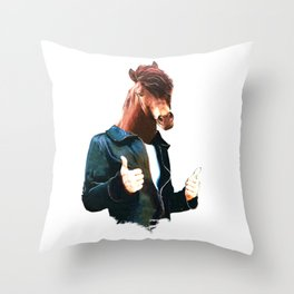 This is a bad boy Throw Pillow