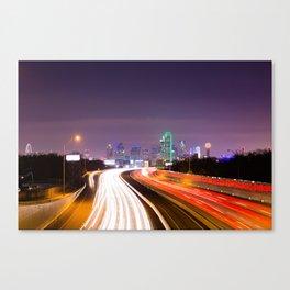 The Road to Dallas Canvas Print
