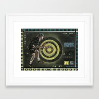 acdc Framed Art Prints featuring AC/DC by Ray Stephenson
