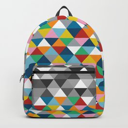 Triangles with Topper Backpack