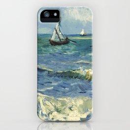 Van Gogh Seascape iPhone Case
