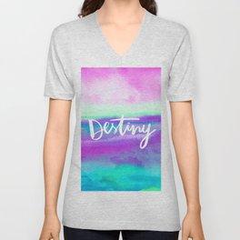 Destiny [Collaboration with Jacqueline Maldonado] Unisex V-Neck