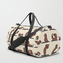 Dachshund yoga Duffle Bag