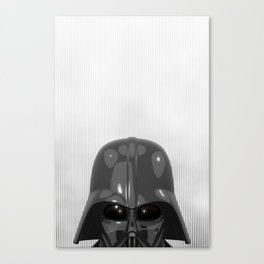 Darth Vader Bottom Canvas Print