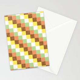 Fall cubes Stationery Cards