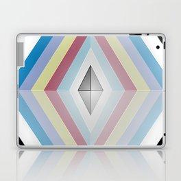 Muted tones geometric Laptop & iPad Skin