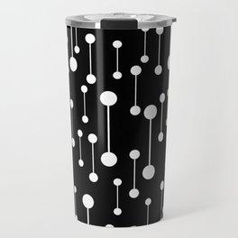 Perfectly Balanced In Black And White Travel Mug