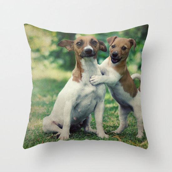 Something to Make You Smile Throw Pillow