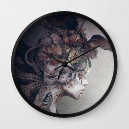 Broken Queen Wall Clock
