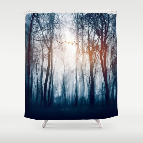 Morning Colours Shower Curtain