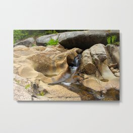 Giant's Bathtub Small Falls Metal Print