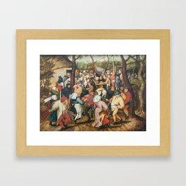 The Wedding Dance Framed Art Print