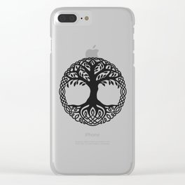 Yggdrasil, the northsmen tree of life Clear iPhone Case