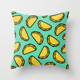 It's Taco Time! Throw Pillow