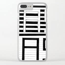 AAS Clear iPhone Case