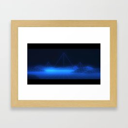 Vectorial Landscape Framed Art Print