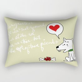 The Gift Rectangular Pillow