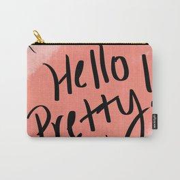 Hello Pretty! Carry-All Pouch