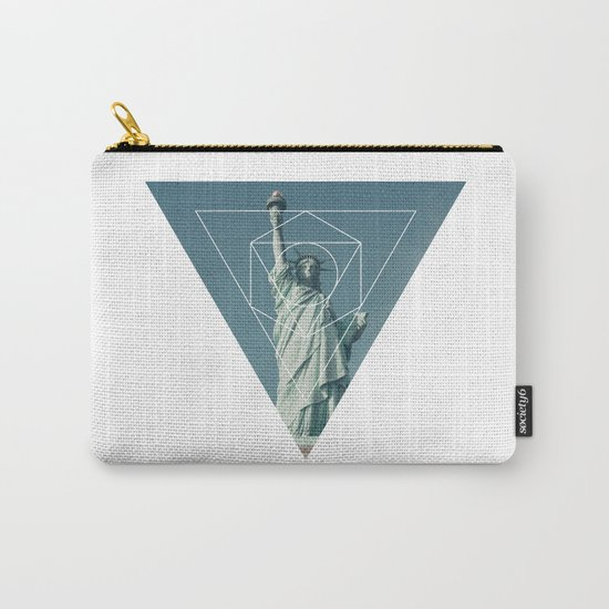 Statue of Liberty - Geometric Photography Carry-All Pouch