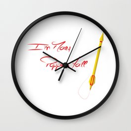I'm Marry Poppins Y'all Wall Clock
