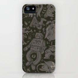 Hodge Podge iPhone Case