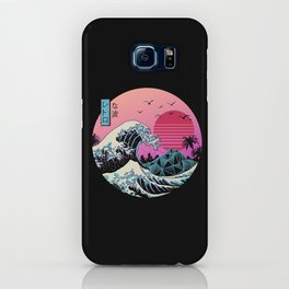 The Great Retro Wave iPhone Case
