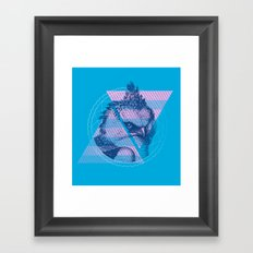For the Birds Framed Art Print