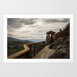 Outside the Lines Art Print