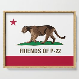 Friends of P-22 Serving Tray