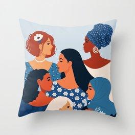 Women Empowerment Throw Pillow