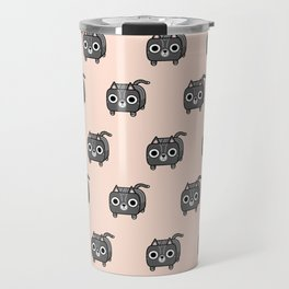 Cat Loaf - Grey Tabby Kitty Travel Mug