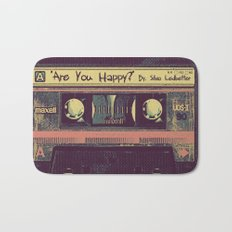 Are You Happy?     Cassette Tape Bath Mat