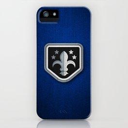 Club Scouts - Bleu Blanc Noir iPhone Case