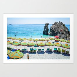 Under Umbrella Art Print