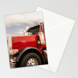 Red truck California Stationery Cards