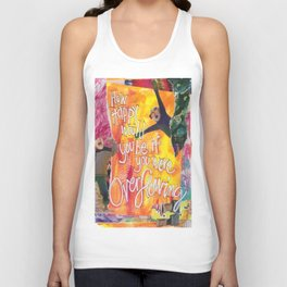 Overflowing Unisex Tank Top
