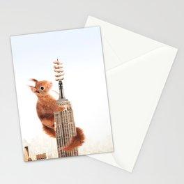 Squirrel-zilla Stationery Cards
