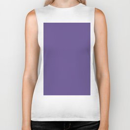 Ultra Violet Purple - Color of the Year 2018 Biker Tank