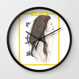 The Virgin Wall Clock